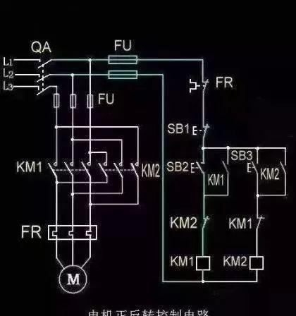 15个常见的电工中级电路图,会操作12个才算得上是电工老师傅!_6
