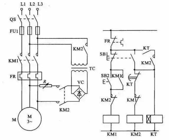 15个常见的电工中级电路图,会操作12个才算得上是电工老师傅!_9