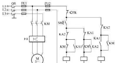 15个常见的电工中级电路图,会操作12个才算得上是电工老师傅!_3