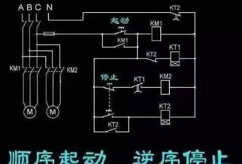 15个常见的电工中级电路图,会操作12个才算得上是电工老师傅!_5