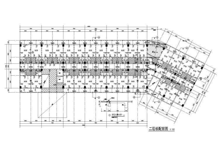 [广西]10层酒店式公寓结构施工图(2015)