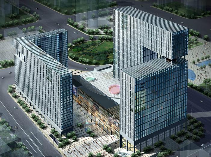 [安徽]合肥新城国际商业建筑规划设计文本