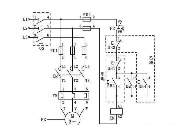 15个常见的电工中级电路图,会操作12个才算得上是电工老师傅!_14