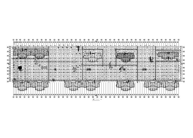 [许昌]板式筏形基础地下车库结构施工图