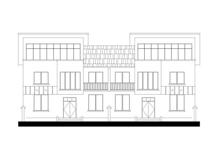 二层新农村住宅建筑施工图
