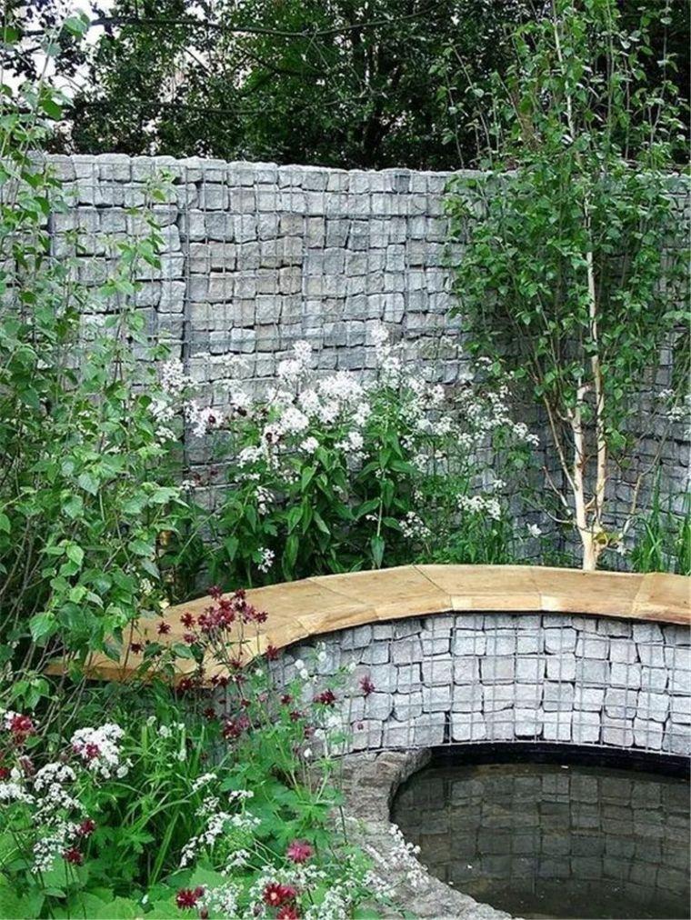 景观最佳CP之石笼与植物!_28