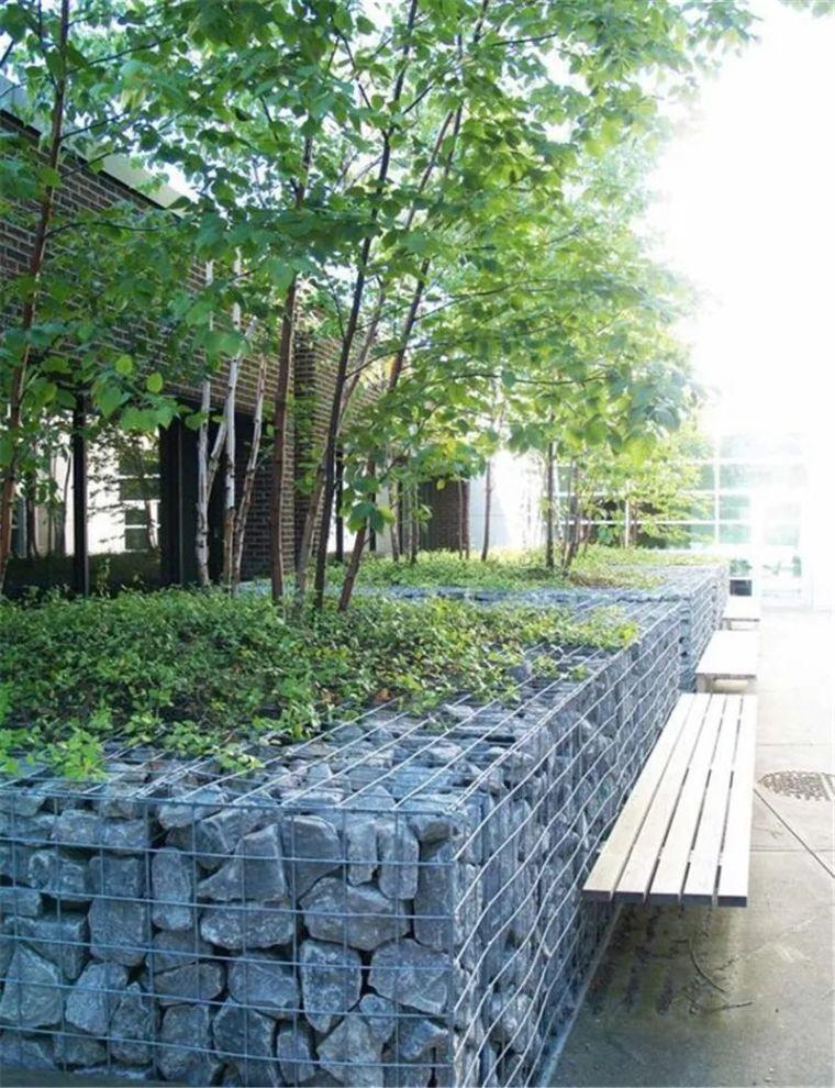 景观最佳CP之石笼与植物!_38