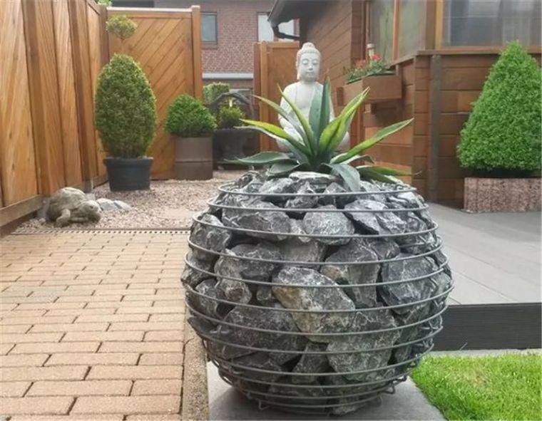 景观最佳CP之石笼与植物!_40