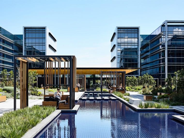 澳大利亚加勒比商业公园二期景观