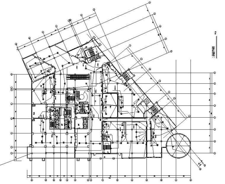 海南省三亚大型度假酒店及配套商业施工图纸