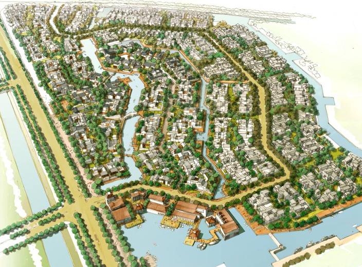 [上海]上实朱家角居住区项目设计方案文本(PPT,121页)