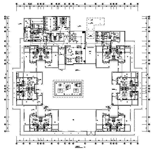 海南省万宁神州半岛度假酒店及配套设施机电设备施工图