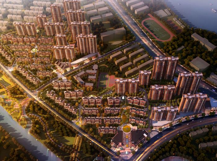 [江西]南昌奥克斯城市华庭项目总体规划设计文本