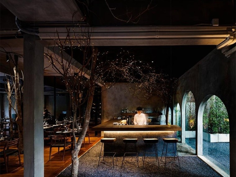 泰国CUISINEDEGARDENBKK现代美食餐厅