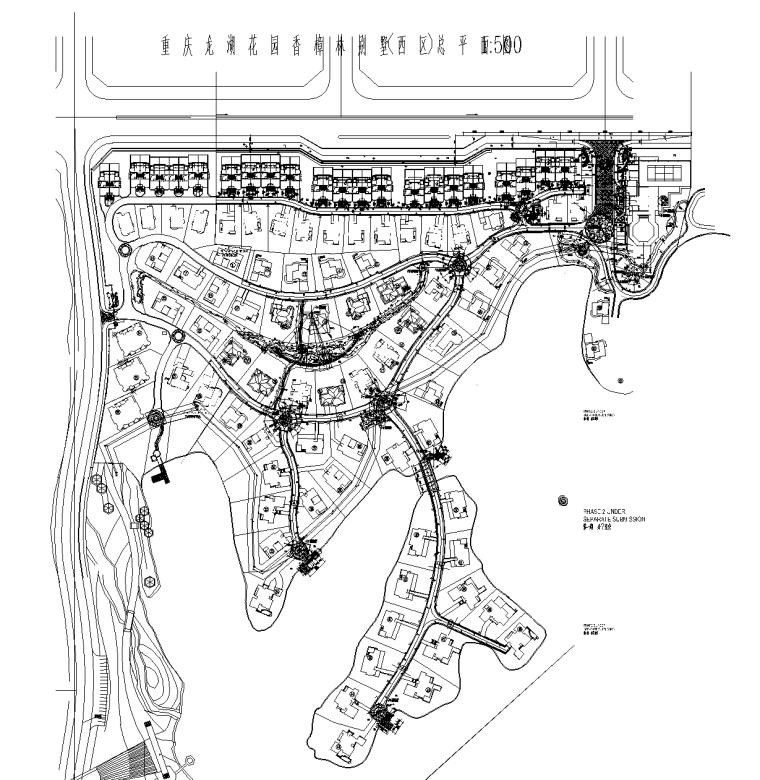 [重庆]龙湖香樟林居住区景观设计全套CAD施工图(中式风格)