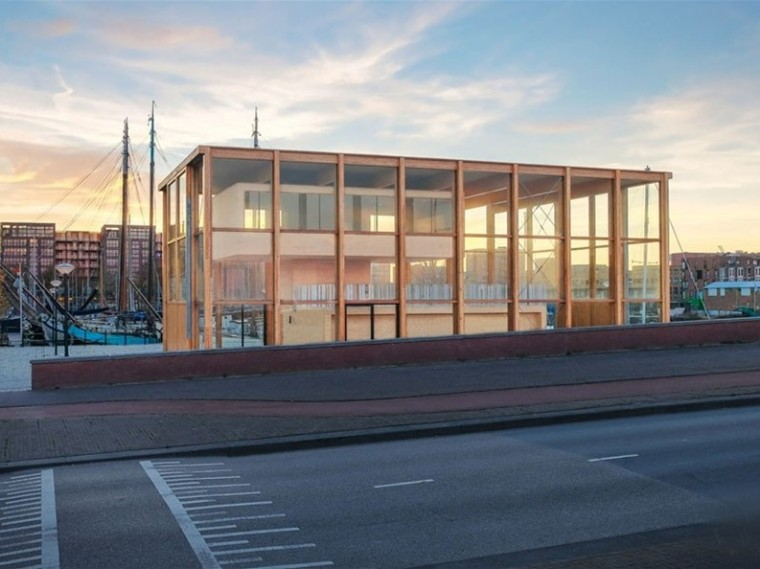 阿姆斯特丹海港船屋