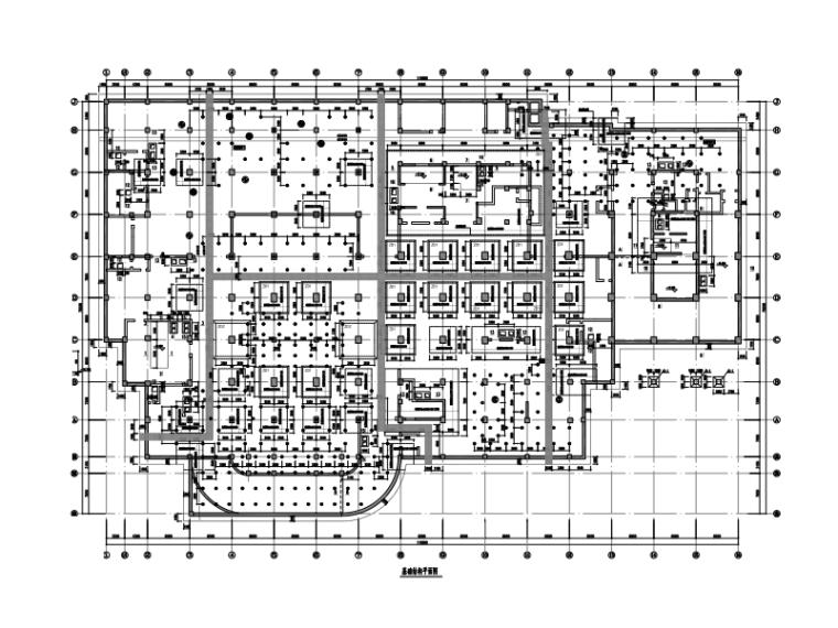 [广州]医院门诊综合楼人防地下室施工图(建筑结构水暖电,2015)