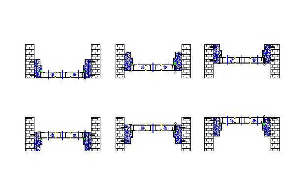 铝合金门窗的制作与安装及金属门安装施工技术交底(图文并茂)-31门框的安装步骤