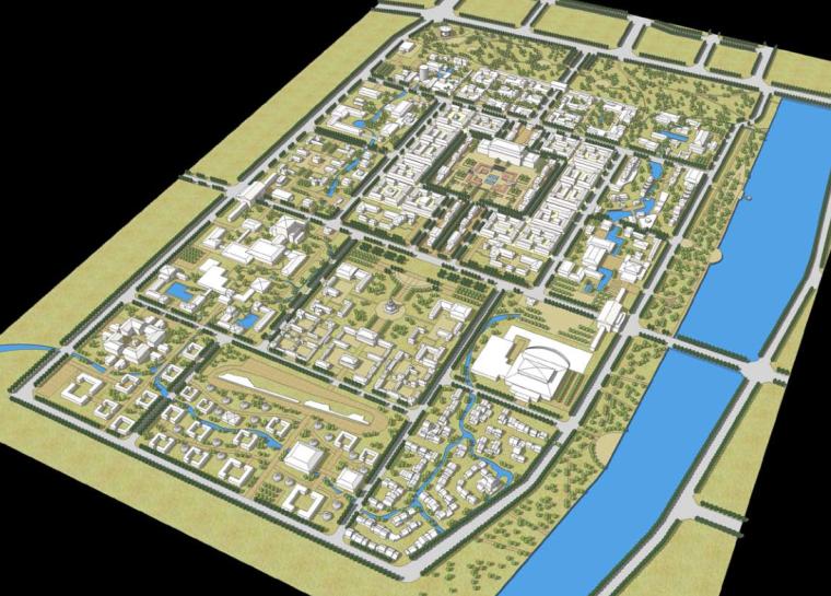 [甘肃]敦煌沙洲古城规划设计方案文本