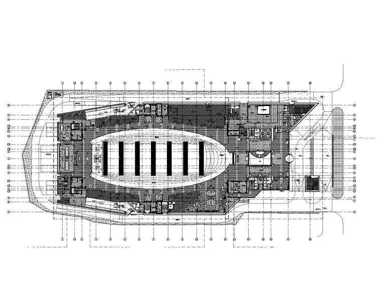 [上海]Yabu-上海衡山路12号豪华精选酒店全套CAD施工图+设计方案+效果图