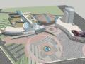 景德镇国际会展中心建筑模型设计
