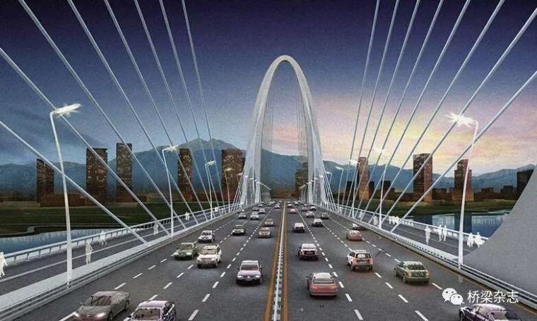 曲塔钢桥——长安大桥建设稳步推进