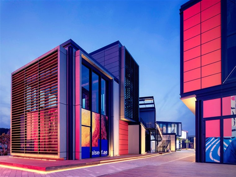 迪拜AlSeef现代区商业建筑