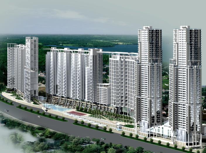 [广东]万科海景城规划方案设计文本