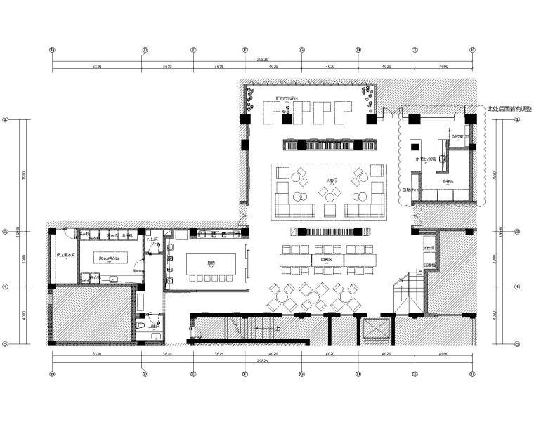 上海桀思空间-上海金沙路酒店式公寓室内装修施工图(附效果图)