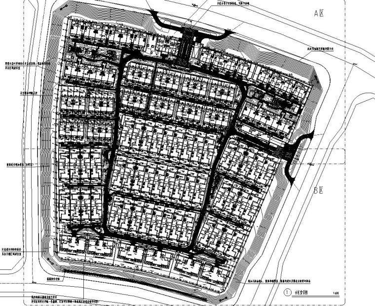 [北京]北京秦禾院子全套施工图设计(植物|CAD)
