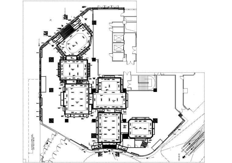 [郑州]万象城PRADA奢侈品专卖店CAD施工图