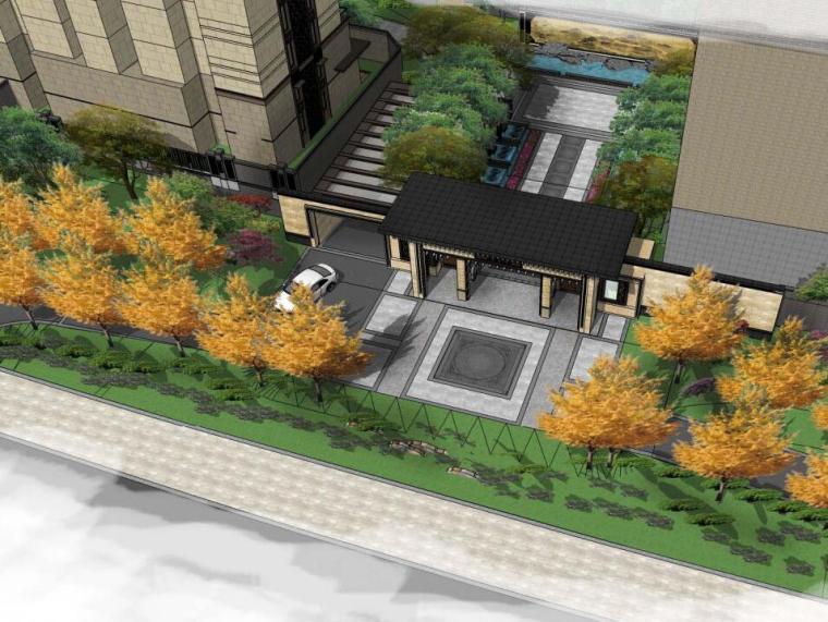 [北京]泰禾北京院子全套景观方案文本(方案+模型+实景+园建+给排水+水电+植物)