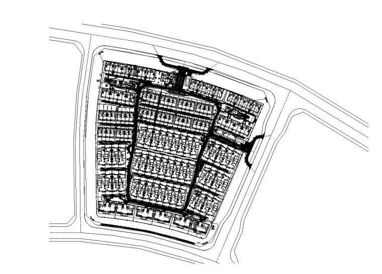 [北京]北京秦禾院子全套施工图设计(电气|CAD)