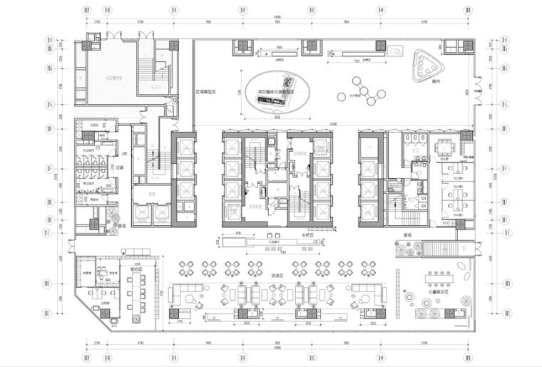 [深圳]中粮祥云售楼处设计方案+效果图+CAD平面图(PDF+JPG)
