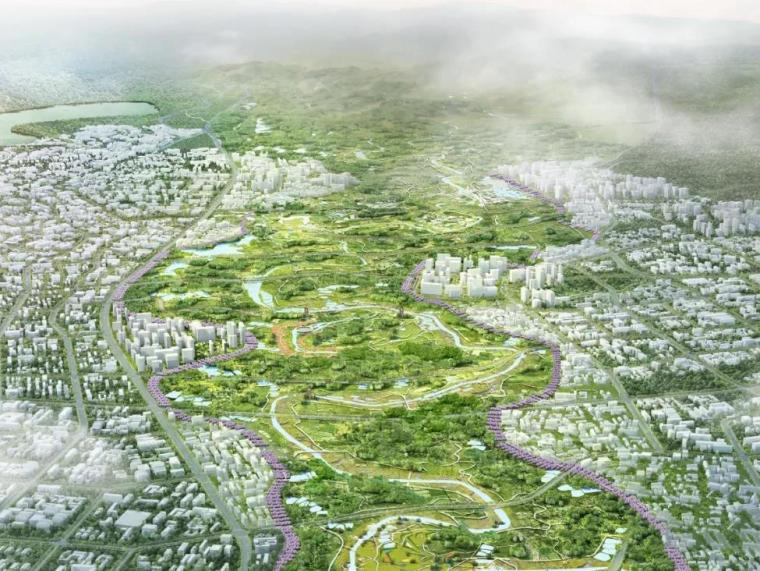 成都绛溪公社——国际空港新城绛溪河公园