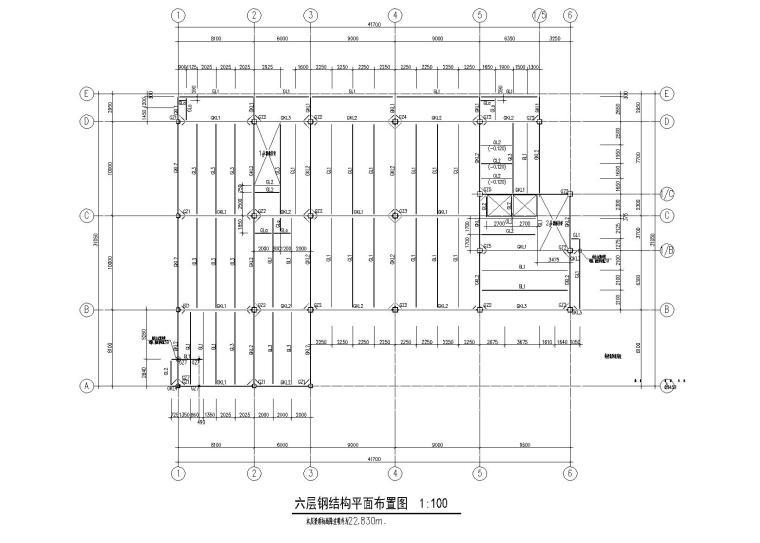 电影院改造项目全套施工图2013_钢框架结构