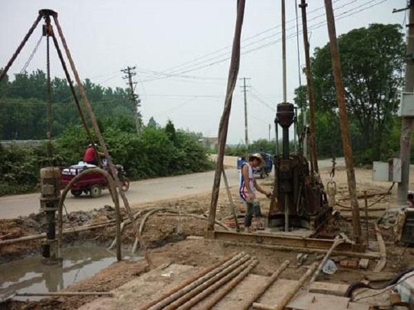 基坑排桩支护设计及管井降水施工组织设计