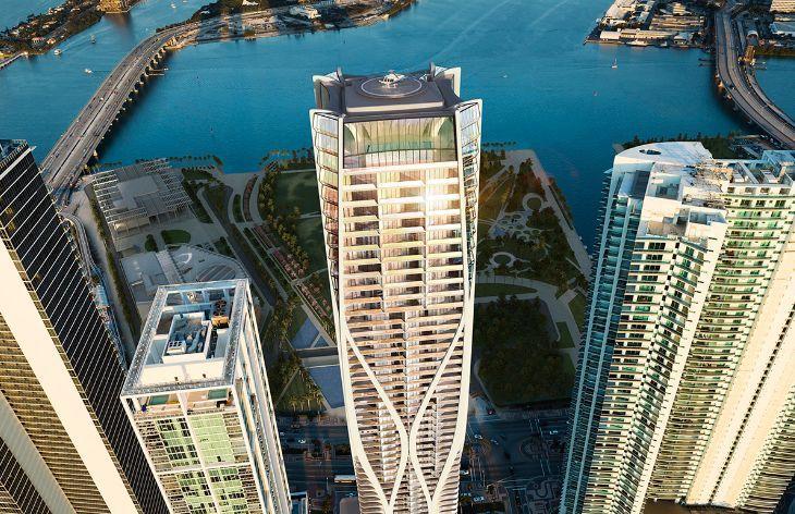 扎哈生前设计的最后一栋美国公寓楼终建成