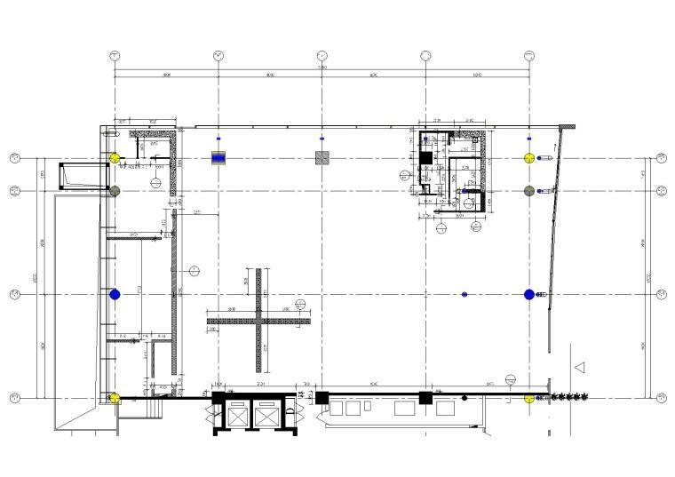 [北京]赫曼德高端橱柜连锁店效果图+CAD全套施工图+水电图+物料书