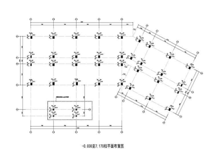 [广西]11层钢筋混凝土结构住宅商业两用结构施工图(2015)