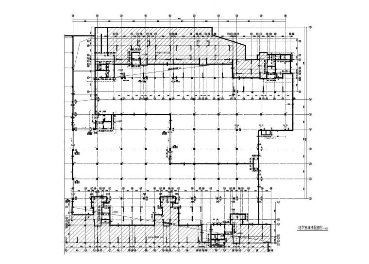 住房建设项目人防地下室结构施工图(2015)