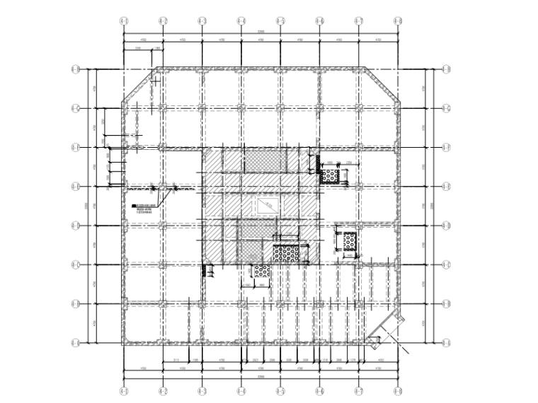 超高层地标建筑南北公寓装修改造工程结构图