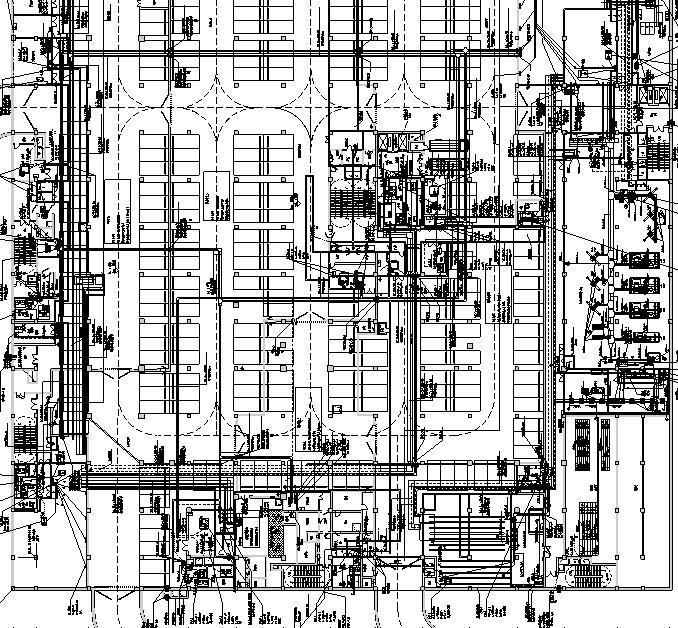 广东大型商业综合体机电施工图(含人防及弱电智能化)