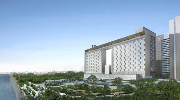 [江苏]南京涵碧楼酒店建筑模型设计