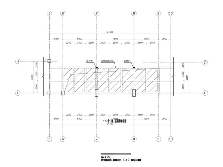申华金融大厦改造项目-梁板拆改建、新增钢雨棚(2016)