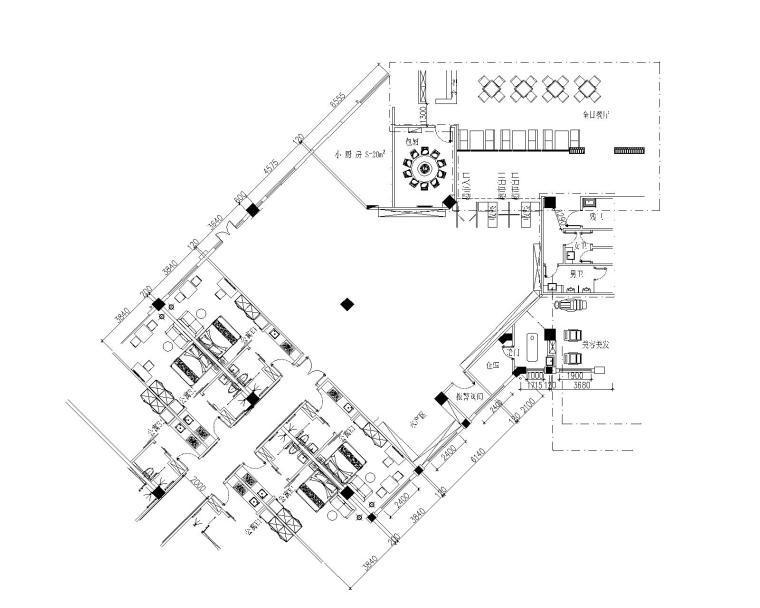 [江苏]养老项目-三湾村上海人家酒店养老公寓内装施工图+效果图