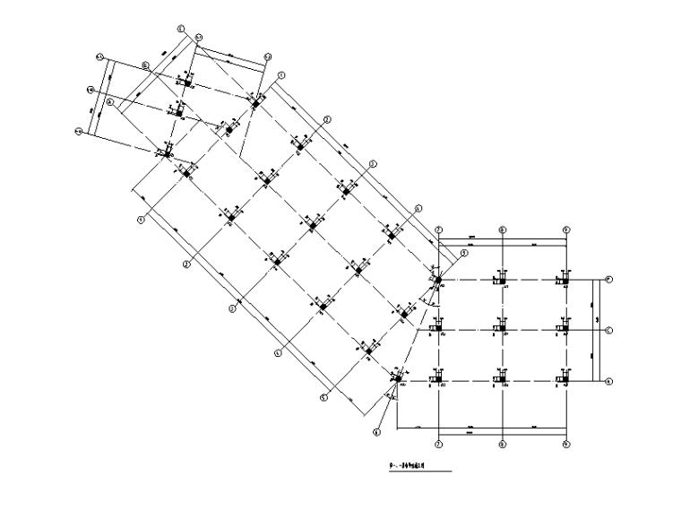 [东方]4层框架结构商业楼结构施工图2017