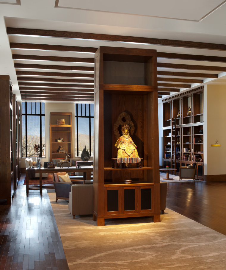 [西藏]拉萨瑞吉度假酒店装修施工图+实景图-The St. Regis Lhasa Resort—Drawing Room