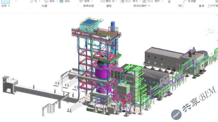 干熄焦系统工程施工方面BIM技术应用汇报