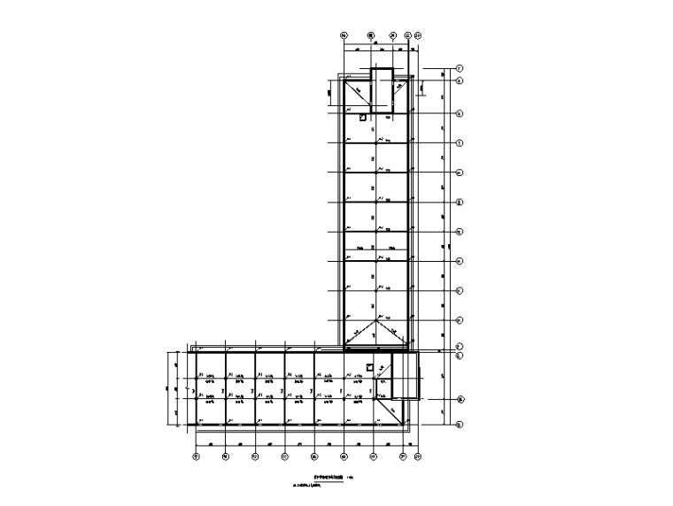 [淮南]教学楼改造施工图(建筑结构水电)